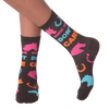 Women's Horse Hair Don't Care Crew Socks