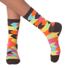 Women's Chevron Stripes Crew Socks