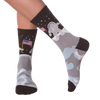 Women's Man On The Moon Crew Socks - American Made
