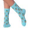Women's Pineapples Crew Socks