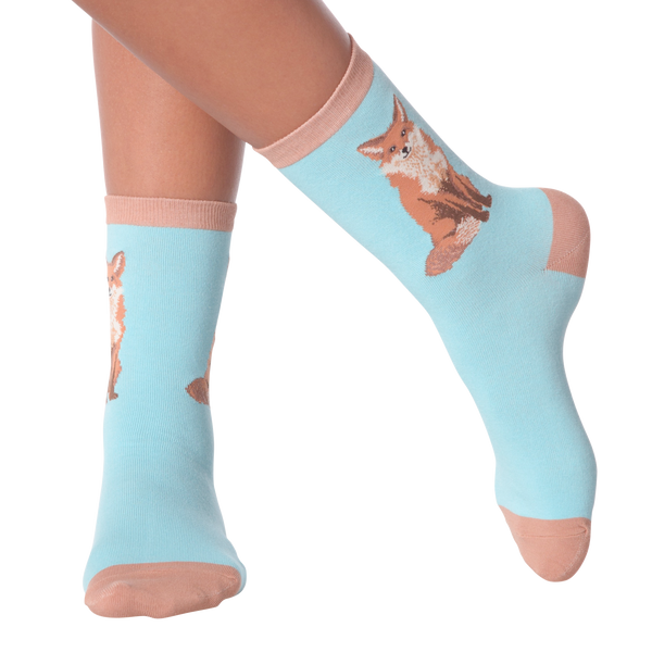 Women's Foxy Sox Crew Socks