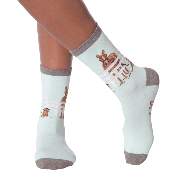 Women's Hold Your Horses Crew Socks