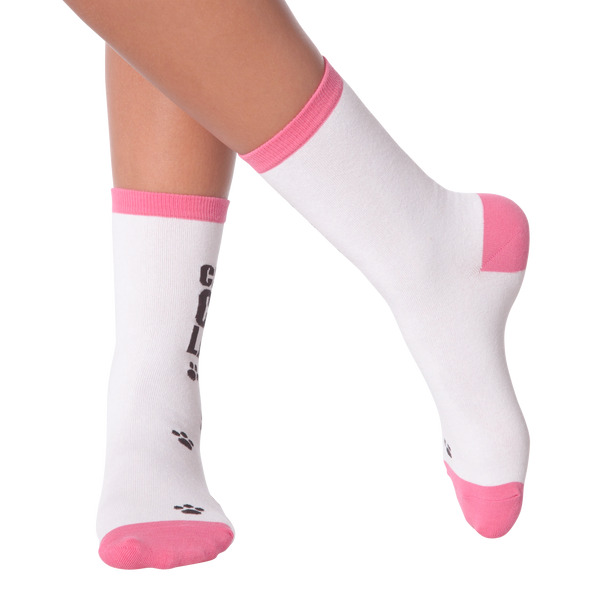 Women's Crazy Cat Lady Crew Socks