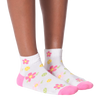 Women's Floral Tennis Ankle Socks