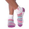 Women's Variegated Stripe Ankle Socks