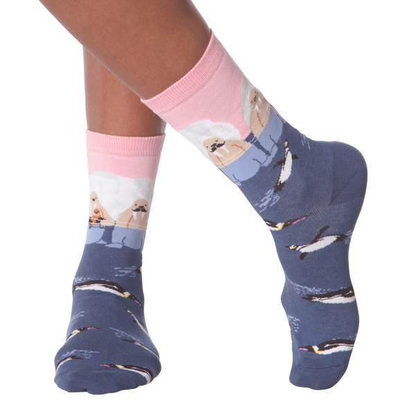 Women's Walrus Crew Socks