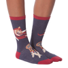 Women's Whimsical Horse Crew Socks