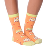 Women's Avocado Toast Crew Socks