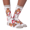 Women's Smarty Dogs Crew Socks