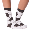 Women's Soccer Ball Crew Socks