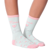 Women's Rose All Day Crew Socks