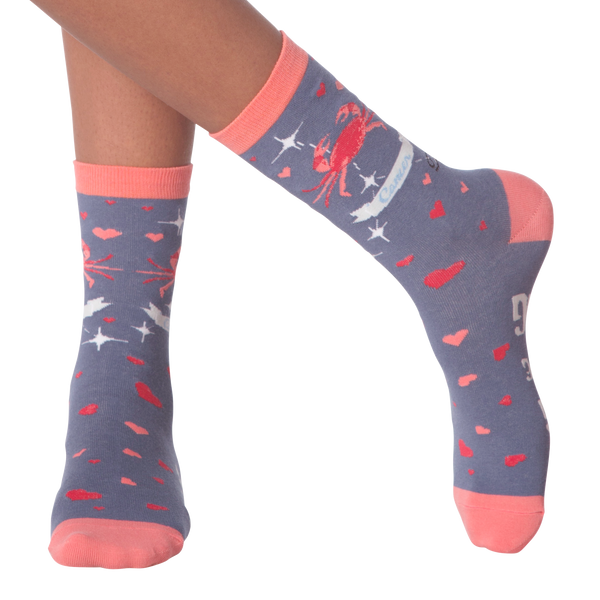 Women's Cancer Crew Socks