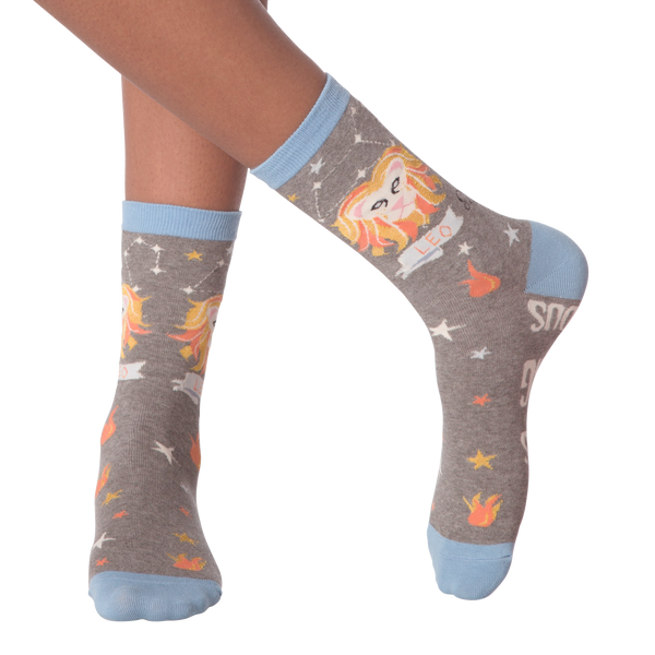 Women's Leo Crew Socks