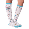 Women's Unicorn with Glasses Knee High Socks