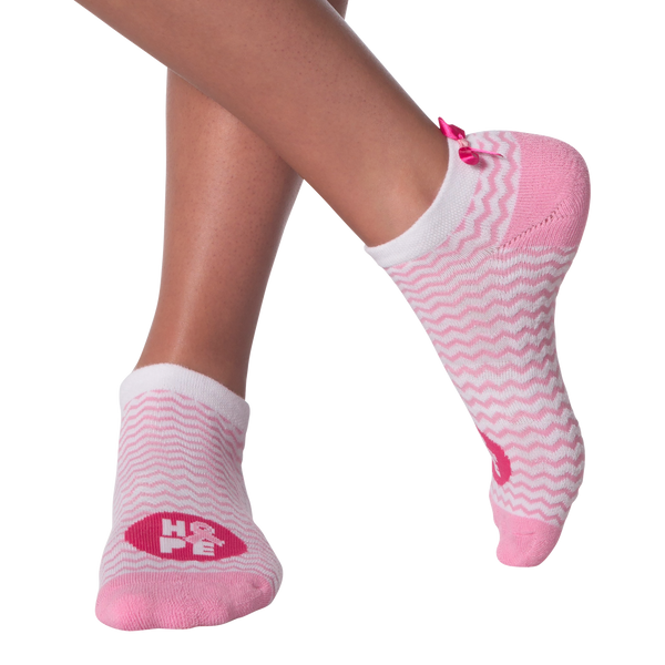 Women's Chevron Ribbon Ankle Socks