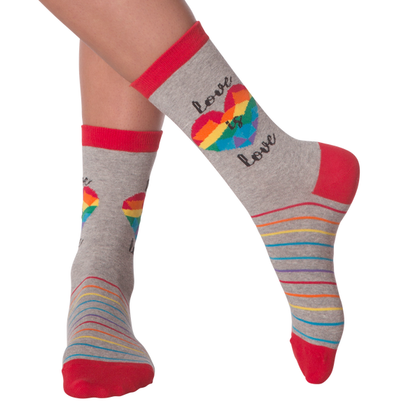 Women's Love Is Love Crew Socks
