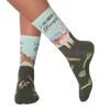 Women's No Probllama Crew Socks