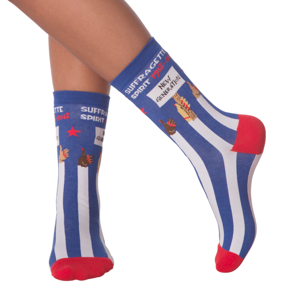 Women's Suffragette Crew Socks