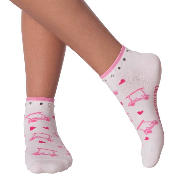 Women's Gone Golfing Ankle Socks