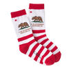 Women's CA Republic Crew Socks - Made in America