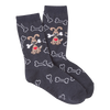 Women's Dog with Bones Crew Socks