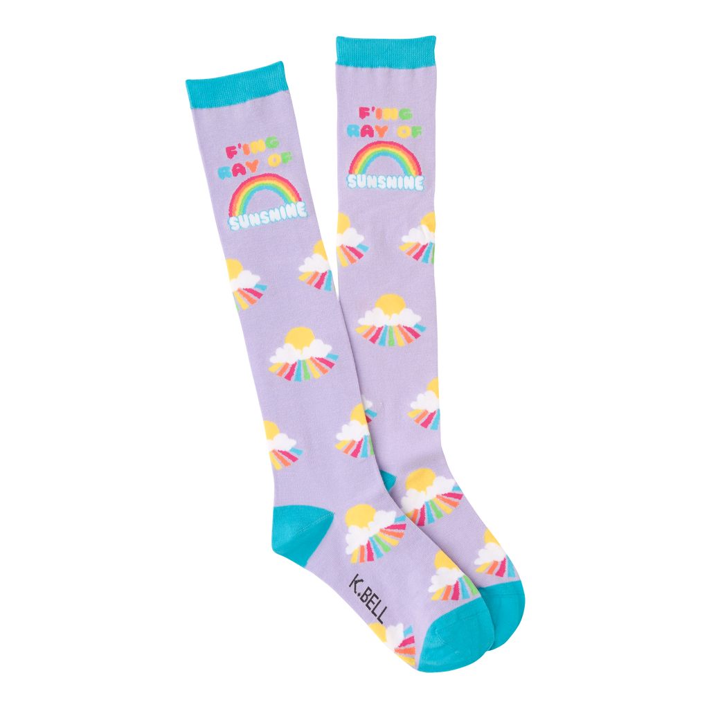 Women's F'ing Ray Of Sunshine Knee High Socks
