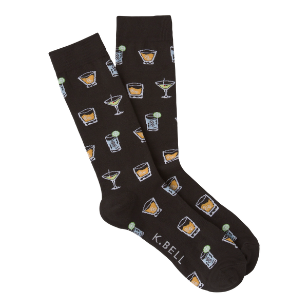 Men's Cocktails Crew Socks
