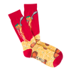Men's Spaghetti & Meatballs Crew Socks