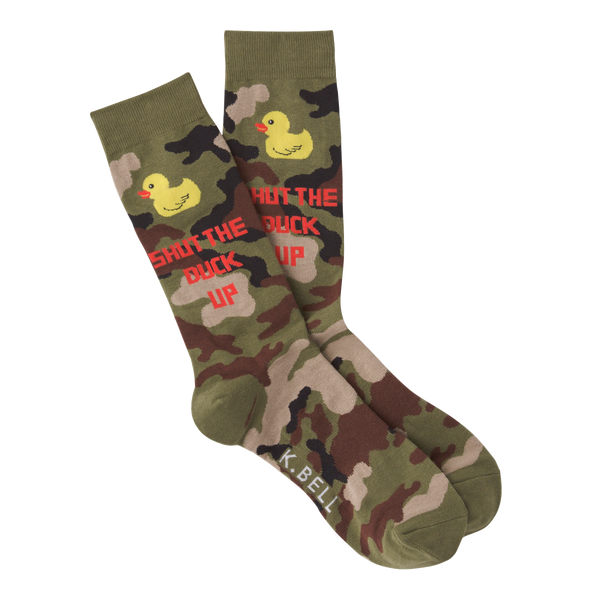Men's Shut The Duck Crew Socks