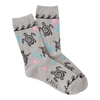 Women's Tribal Turtles Crew Socks