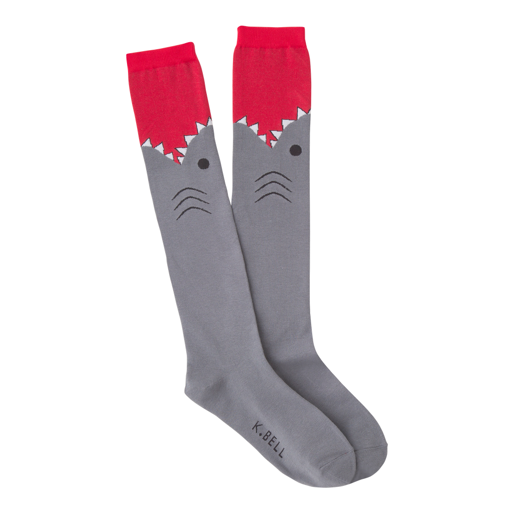 Women's Shark Knee High Socks