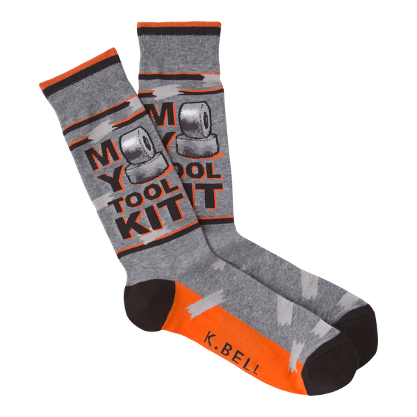 Men's Tool Kit Crew Socks