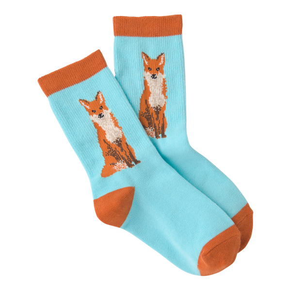 Kid's Foxy Crew Socks