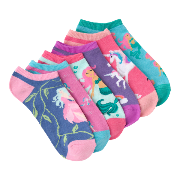 Women's Mythical Creatures Ankle Socks Six Pair Pack