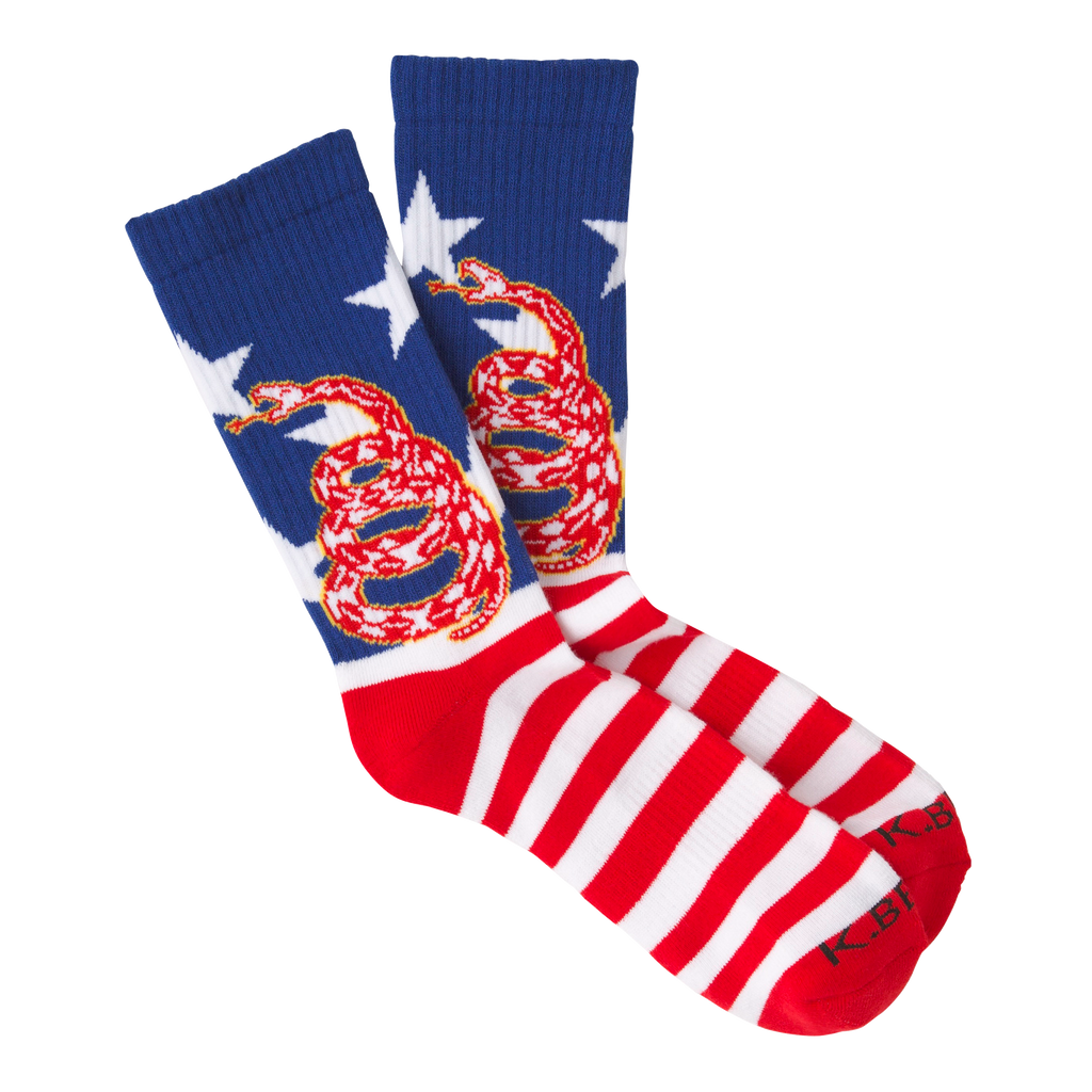 Men's Don't Tread Crew Socks