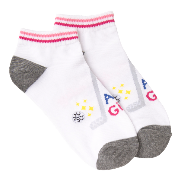Women's Swing Like A Girl Ankle Socks