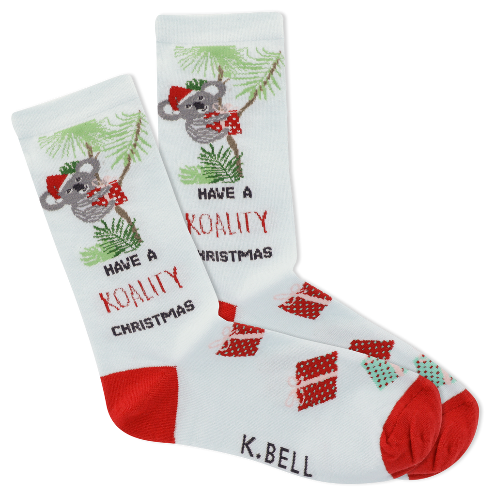 Women's Koality Christmas Crew Socks