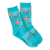 Women's I Don't Give A Flock Crew Socks
