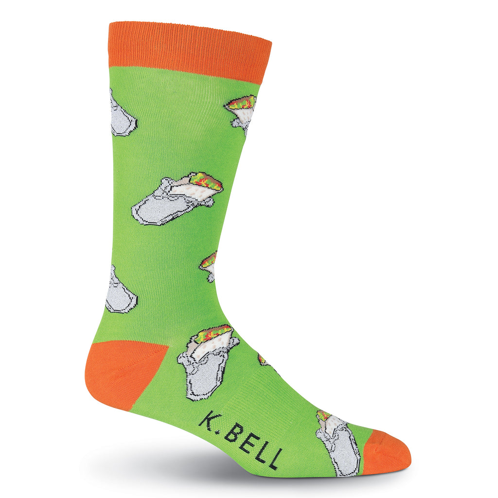 Men's Burritos Crew Socks
