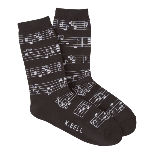 Women's Making Music Crew Socks
