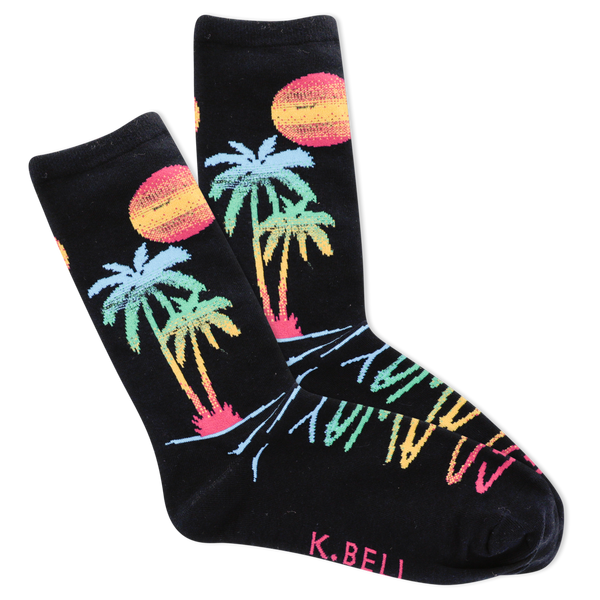 Women's Go Away Crew Socks