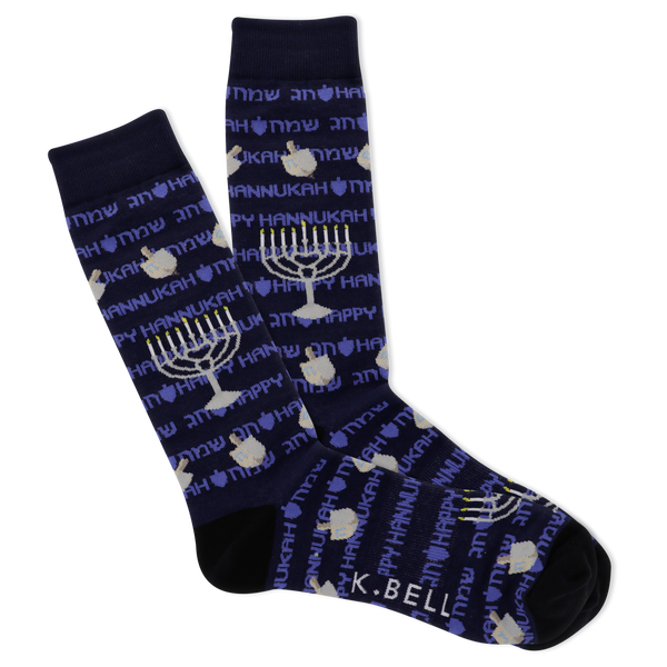 Men's Festival Of Lights Crew Socks