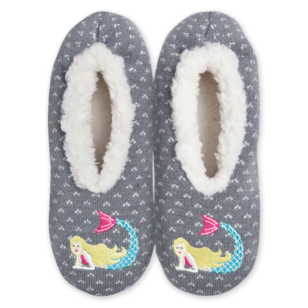 Women's Cozy Mermaid Slippers