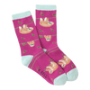 Women's Sloth Crew Socks