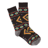 Men's Southwest Blanket Crew Socks