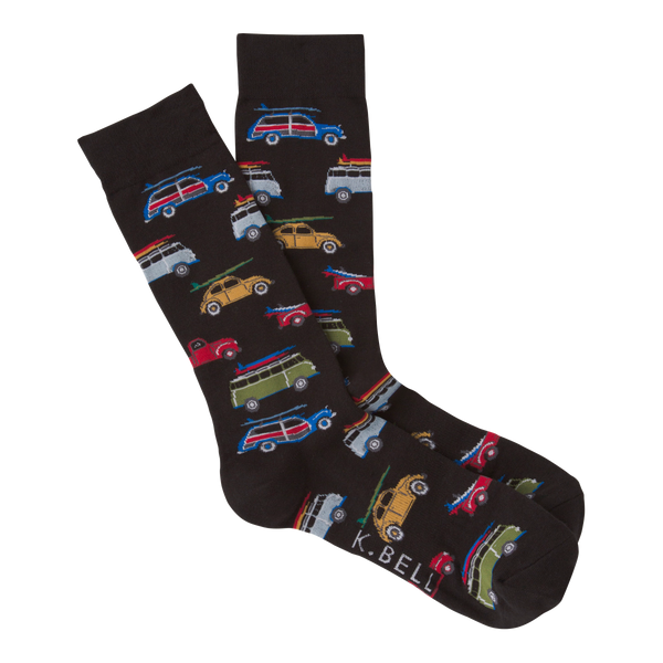 Men's Gone Surfing Crew Socks