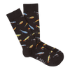 Men's Fishing Lures Crew Socks