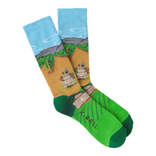 Men's Winery Crew Socks - American Made