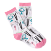 Women's Hair Salon Crew Socks