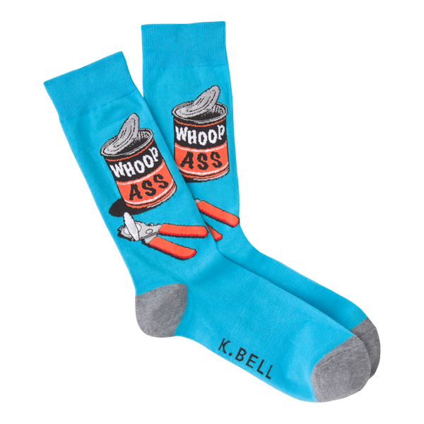 Men's Whoop Ass Crew Socks